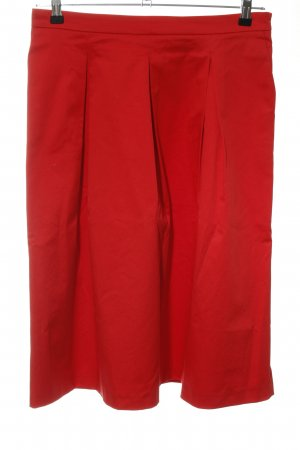 (The Mercer) NY Midi Skirt bright red-red elegant