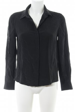 (The Mercer) NY Silk Blouse black business style
