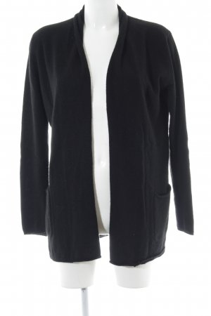 (The Mercer) NY Knitted Cardigan black casual look