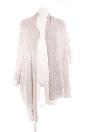 (The Mercer) NY Bolero lavorato a maglia grigio chiaro stile classico