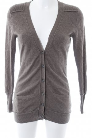 (The Mercer) NY Cardigan light brown casual look