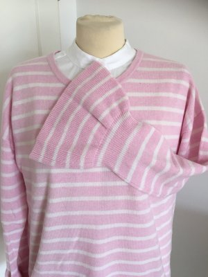 (The Mercer) NY Cashmere Jumper pink-white
