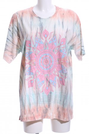 (The Mercer) NY T-shirt motif batik style hippie