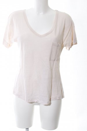 (The Mercer) NY V-Neck Shirt natural white casual look
