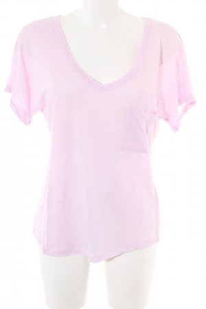 (The Mercer) NY V-Neck Shirt pink casual look