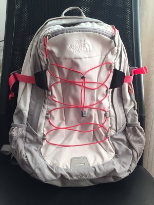 The North Face Laptop rugzak wit-magenta