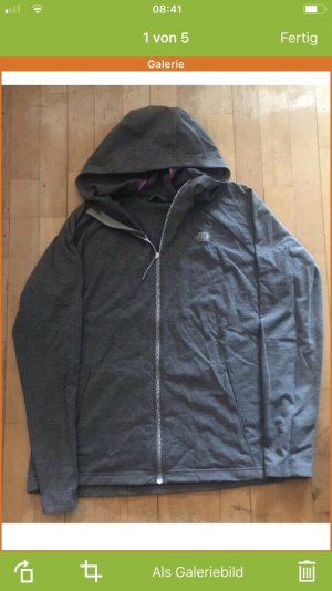 The North Face Veste sweat gris