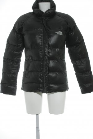 The North Face Down Jacket black athletic style