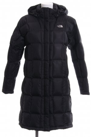 The North Face Daunenmantel schwarz Steppmuster Casual-Look