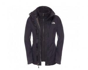 THE NORTH FACE Evolve ll Triclimate Damen Doppeljacke (schwarz)