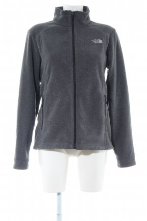 The North Face Fleecejacke hellgrau meliert Casual-Look