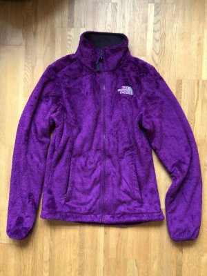 The North Face Chaqueta de forro polar lila