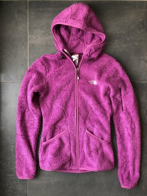 The North Face Giacca in pile rosa