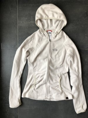 The North Face Chaqueta de forro polar blanco puro
