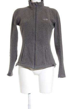 The North Face Fleecejacke grau-hellgrau sportlicher Stil