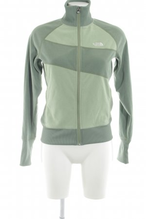 The North Face Chaqueta de forro polar caqui-verde claro look casual