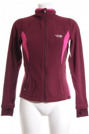 The North Face Fleecejacke magenta-bordeauxrot sportlicher Stil