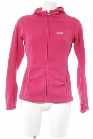 The North Face Fleecejacke magenta Casual-Look