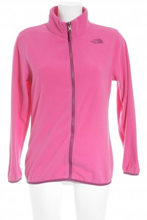 The North Face Fleece Jackets pink-purple athletic style