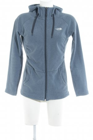 The North Face Fleecejacke stahlblau Streifenmuster Casual-Look