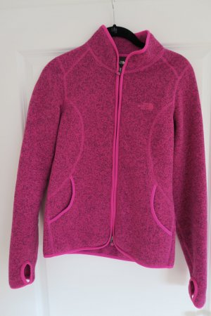 THE NORTH FACE Jacke pink-meliert mit Stehkragen Gr. 36