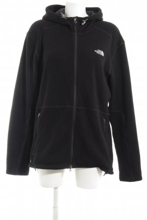 The North Face Kapuzenjacke schwarz Motivdruck Casual-Look