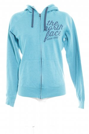 The North Face Kapuzenjacke kadettblau-petrol meliert Casual-Look