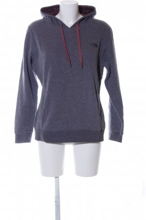 The North Face Kapuzenpullover blau meliert Casual-Look