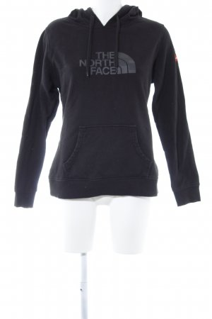 The North Face Kapuzensweatshirt schwarz grafisches Muster Casual-Look