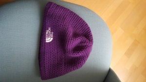 The North Face Casquette violet foncé