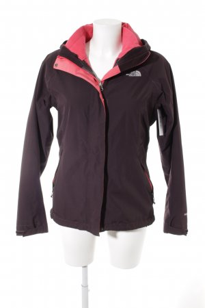 The North Face Chaqueta para exteriores rojo zarzamora-magenta look casual