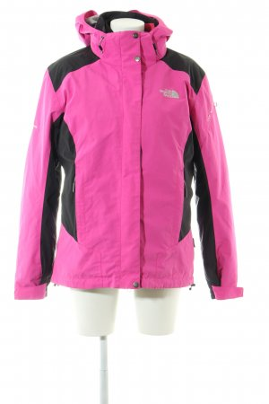 The North Face Outdoor Jacket pink-black casual look