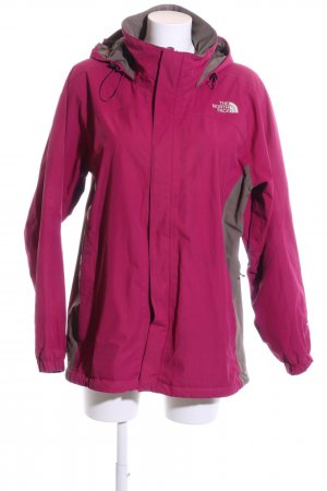 The North Face Outdoor Jacket pink-light grey casual look
