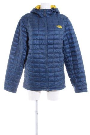 The North Face Outdoor Jacket dark blue-dark yellow casual look