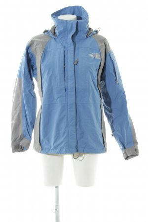 The North Face Chaqueta para exteriores azul-gris claro look casual