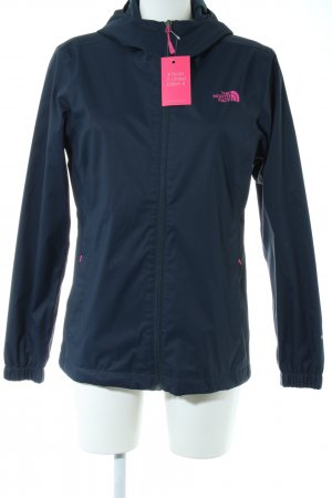 The North Face Outdoor Jacket blue-pink themed print casual look