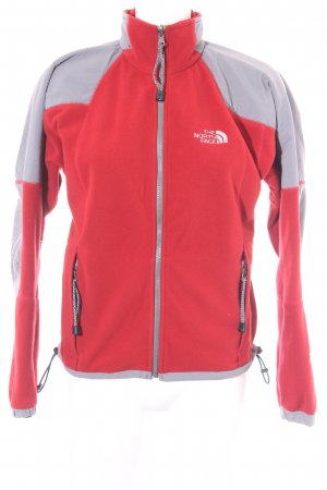 The North Face Outdoorjacke grau-rot sportlicher Stil