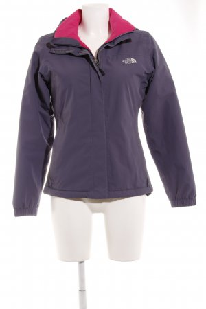 The North Face Outdoorjacke grauviolett Casual-Look