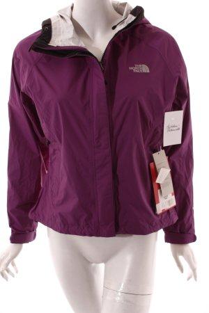 The North Face Outdoorjacke lila sportlicher Stil