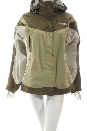 The North Face Outdoorjacke olivgrün-wollweiß sportlicher Stil