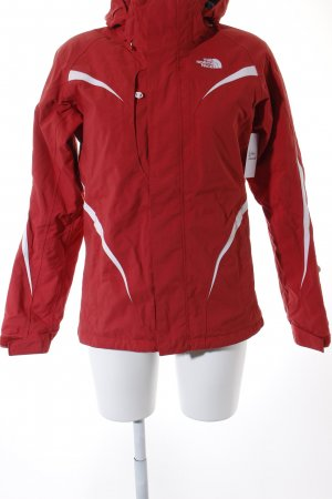 The North Face Outdoorjacke rot-weiß Casual-Look