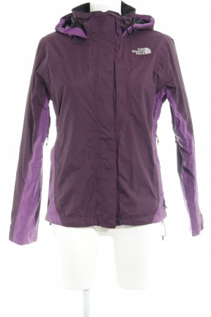 The North Face Regenjacke braunviolett-violett sportlicher Stil