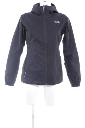 The North Face Raincoat black-mauve athletic style