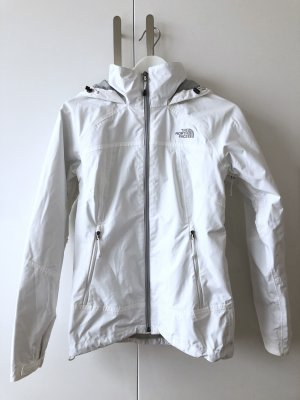 The North Face Raincoat white