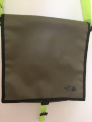 The North Face Sac porté épaule gris vert-jaune fluo polyester