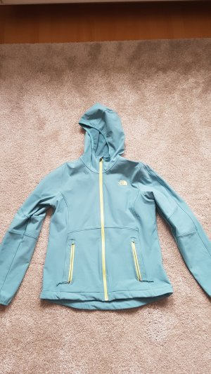 The North Face Softshell Jacket turquoise