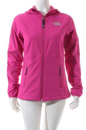 The North Face Softshelljacke pink sportlicher Stil