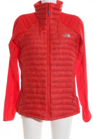 The North Face Steppjacke rot Steppmuster Casual-Look