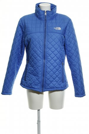 The North Face Steppjacke blau-weiß Casual-Look