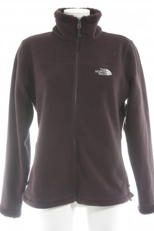 The North Face Sweat Jacket brown violet athletic style